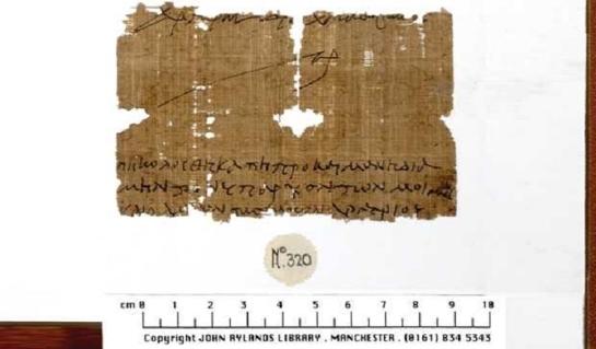 Hallan el primer papiro referente a la Última Cena de 1.500 años