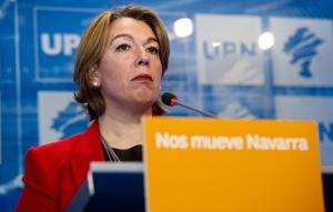 Amalia Salanueva, en una anterior comparecencia. (Iñigo URIZ).