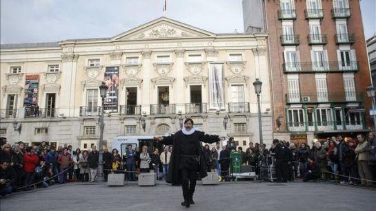 El Teatro Español sale a la calle por Navidad