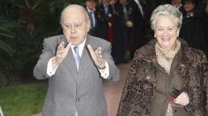 El expresidente de la Generalitat Jordi Pujol y su esposa Marta Ferrusola,