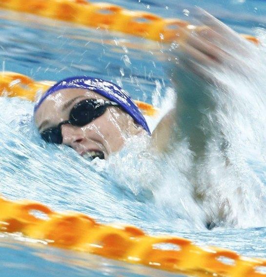 Mireia Belmonte logra la marca mínima mundialista en 400 m estilos con 4:39.04
