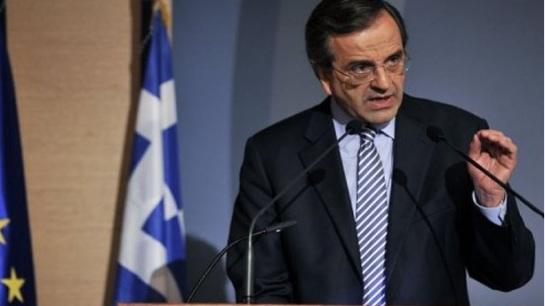 Samarás anuncia elecciones anticipadas en Grecia para el 25 de enero