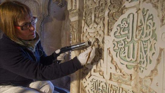 Una restauración a la altura de la Alhambra
