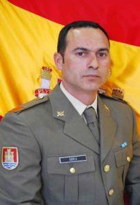 El cabo Francisco Javier Soria. / DEFENSA