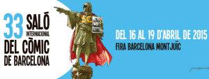Cartel del Salón Internacional del Cómic de Barcelona 2015 Ficomic