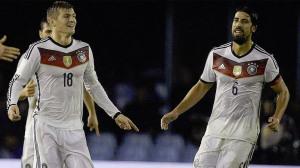 Kroos y Khedira, internacionales alemanes.