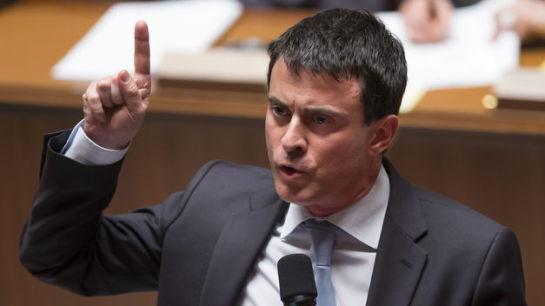 """Valls declara la """"guerra"""" a los yihadistas y anuncia """"medidas excepcionales"""""""