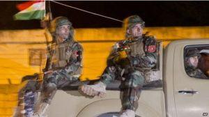 Milicias peshmergas entran a Kobani. DR