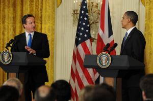 Obama y Cameron.DR