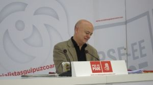 El diputado socialista por Guipúzcoa y exalcalde de San Sebastián, Odón Elorza.