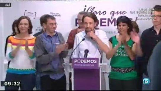 La dirección de 'Podemos' avala las listas para dirigir el partido en 13 Comunidades
