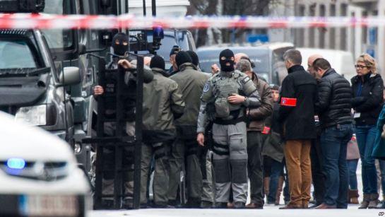 Dos muertos y un herido en una operación antiterrorista en Bélgica