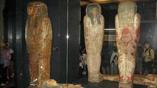 Descubren dos momias egipcias falsas en los Museos Vaticanos