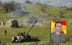 Soldao español muere en el Líbano