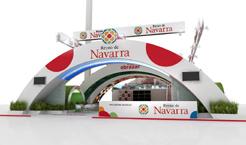 """El """"stand"""" anual de Navarra ya está en Fitur"""