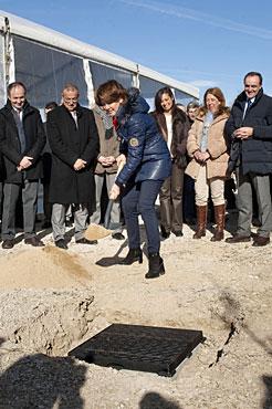 Se inician las obras de la primera fase del Canal de Navarra