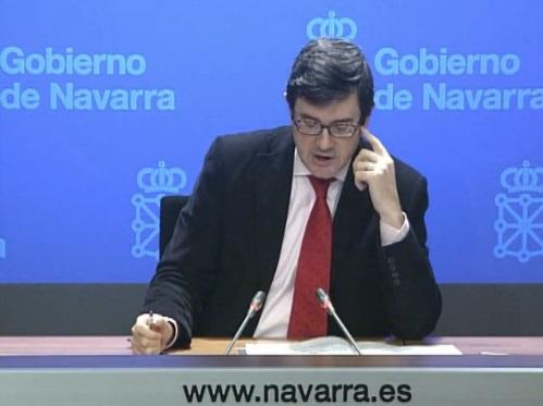 """Iribas no ve justificación """"sociolingüística"""" para la modificación de la Ley de Vascuence en Navarra"""