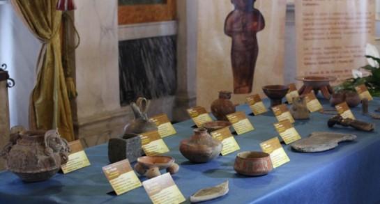 La Policía italiana recupera en Suiza miles de objetos arqueológicos robados por la mafia