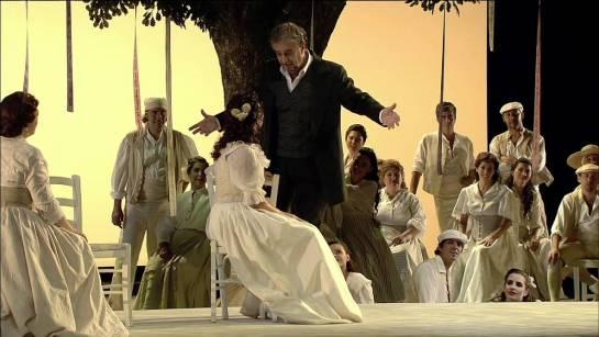 Plácido Domingo interpreta a Vidal en Luisa Fernanda