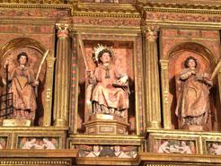 Restaurado del retablo mayor de San Vicente de Sada en Navarra