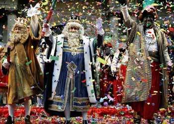 Todo preparado para recibir a los Reyes Magos