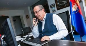 El exgerente de Osasuna, Ángel Vizcay. DR