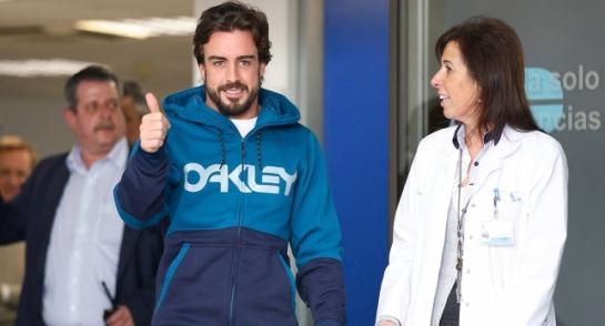 """Fernando Alonso: """"Pronto nos veremos en la pista"""""""