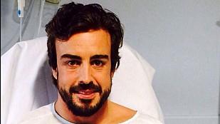 McLaren culpa al viento del accidente; Alonso se recupera