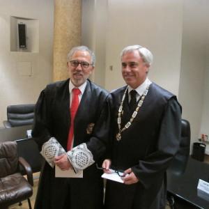 Antonio Viejo Llorente toma el testigo a González Armengol como nuevo juez decano de Madrid.