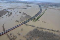 El Gobierno de Navarra reclama al central la limpieza y ayudas extraordinarias por las inundaciones