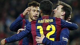 El Barcelona remonta por dos veces al Villareal para llevarse la victoria