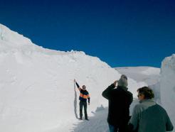Abierta la carretera del Puerto de Belagua (NA-137) con riesgo de hielo