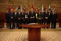 El Presidente de la Cámara Foral pide afianzar el compromiso de las instituciones con las necesarias reformas de la democracia