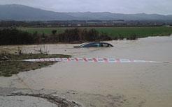 Las avenidas de los ríos llegan a la zona media sin causar daños importantes en las áreas inundadas en el norte