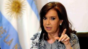 La presidenta de Argentina, Cristina Fernández de Kirchner,