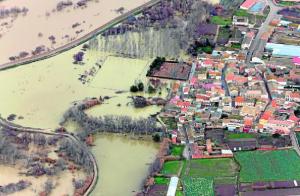Daños riadas del Ebro
