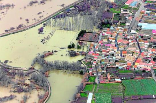 Posible episodio de avenidas extraordinarias en el tramo medio del Ebro a partir del jueves