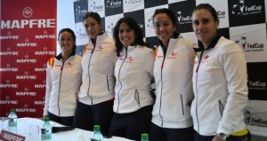 Equipo español de Copa Federación. ndustriadeltenis.com