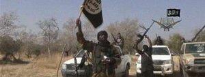 Imagen de un vídeo difundido por Boko Haram amenazando con nuevos ataques. DR