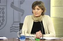 Isabel García Tejerina, ministra de Agricultura, Alimentación y Medio Ambiente.
