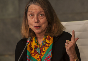 Jill Abramson, ex directora de The New York Times, invitada por la Universidad de Navarra