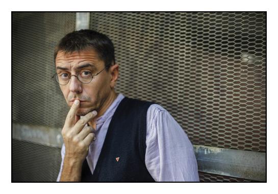 Monedero ya tenía 682.508 euros el día en que fundó 'Podemos'