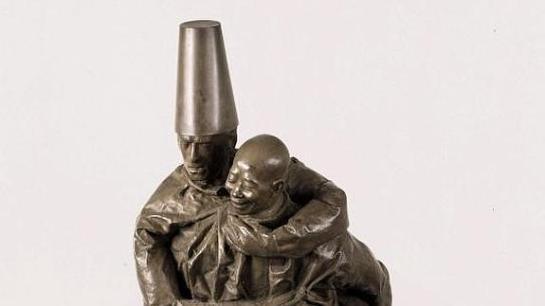 Vendida en Londres una escultura del español Juan Muñoz por 556.000 euros