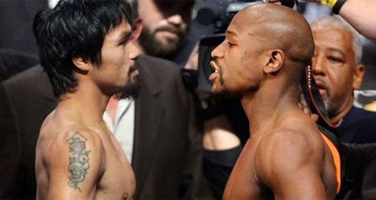 El combate más esperado del siglo: Mayweather vs. Pacquiao