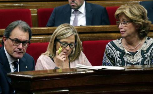 Mas, Ortega y Rigau recurren la admisión a trámite de las querellas abiertas contra ellos por el 9-N