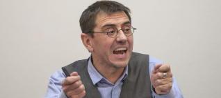 Monedero: las afirmaciones del PP sobre Cataluña recuerdan a las justificaciones del 36