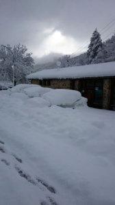 El Gobierno de Navarra recomienda precaución por nieve en cotas bajas y heladas generalizadas