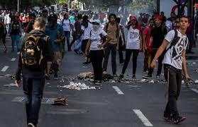 Protestas en Venezuela tras la muerte de un joven durante una manifestación opositora