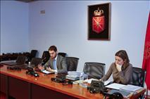 La Comisión de Investigación sobre CAN recibe el informe jurídico del Parlamento