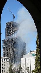Torre Windsor madrid un día después